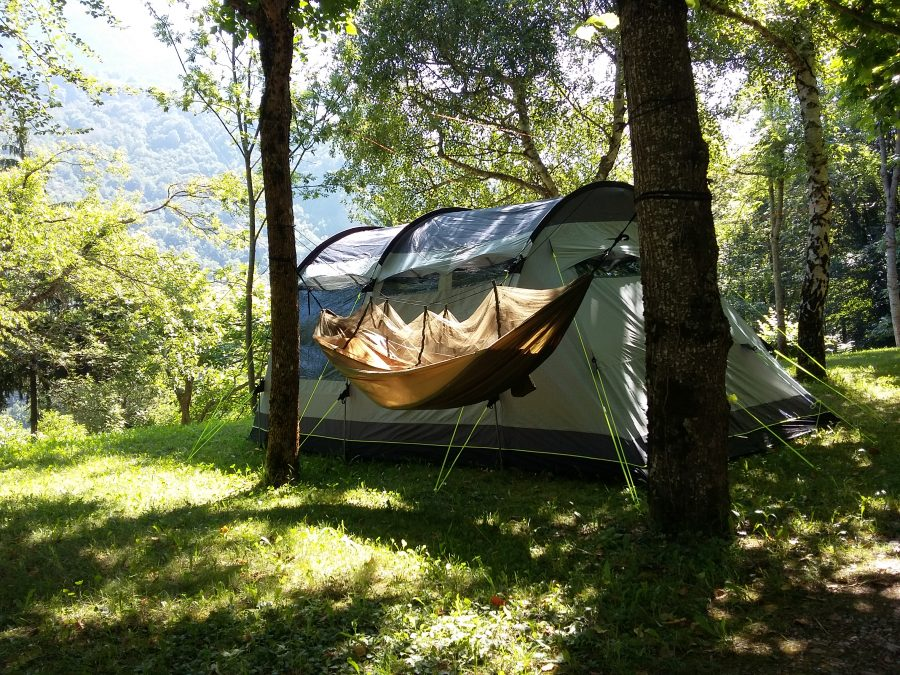 Camping in the Pyrenees Bedura Park