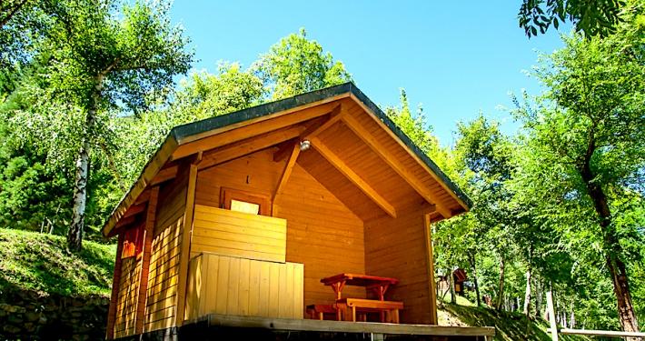 Cabanya de fusta