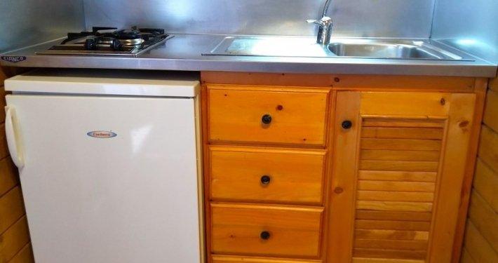 cabañas cocina